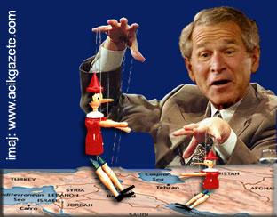 Bush kuklaları anlaştıramadı