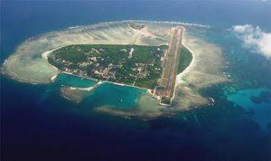Güney Çin Denizi'nde ada