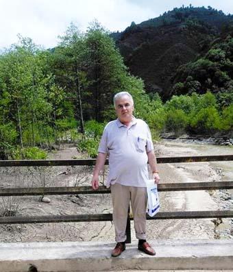 İbrahim Feyzi Ustaoğlu hukuk savaşı yürüterek HES şirketinin hukuksuz uygulamasına son verdi