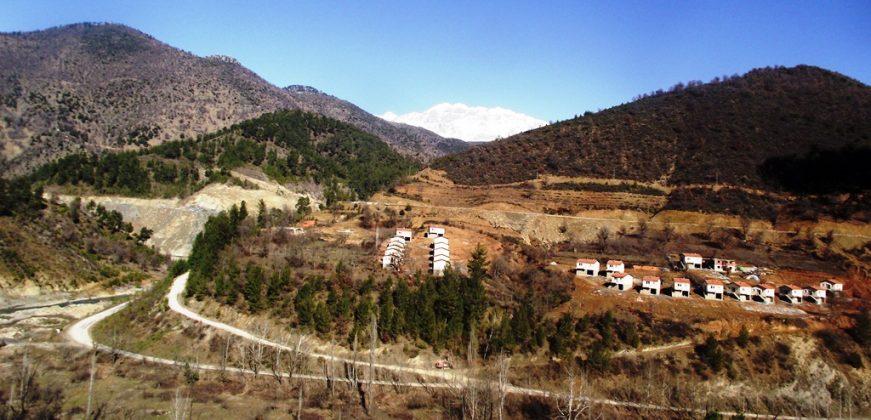 Baraj mağduru köylüler için yapılan yeni evlerin sorumluluğu devlet tarafından kabul edilmiyor