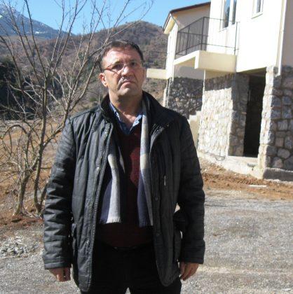 Hasan Uysal baraj yüzünden yaşamlarının parçalandığını söylüyor