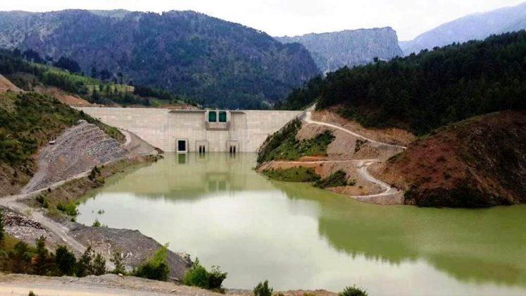 Kasımlar Barajı ve HES projesiözel birşirket tarafından inşa ediliyor