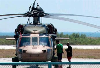 darbe helikopter