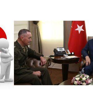 ABD Genel Kurmay Başkanı Joseph Dunford ve Başbakan Binali Yıldırım