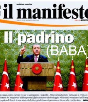 İtalyan sol basınında Tayyip Erdoğan