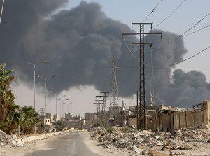 """Klor gazı saldırısı  """"savaş suçu"""" sayılıyor."""