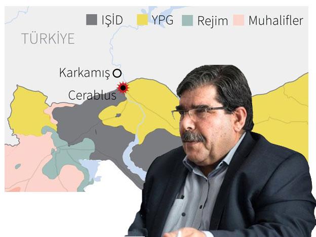 PYD'nin lideri Salih Müslim