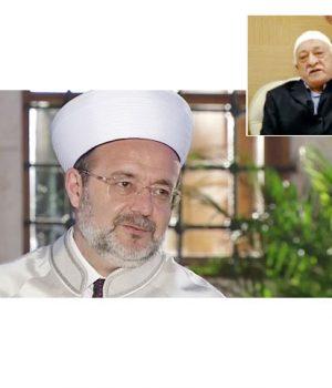 Diyanet İşleri Başkanı Mehmet Görmez ve FETÖ