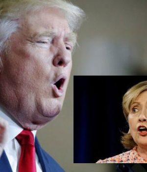 Başkan adayları Trump ve Clinton