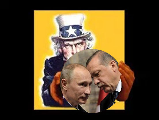 Uncle Sam, RTE ve Putin