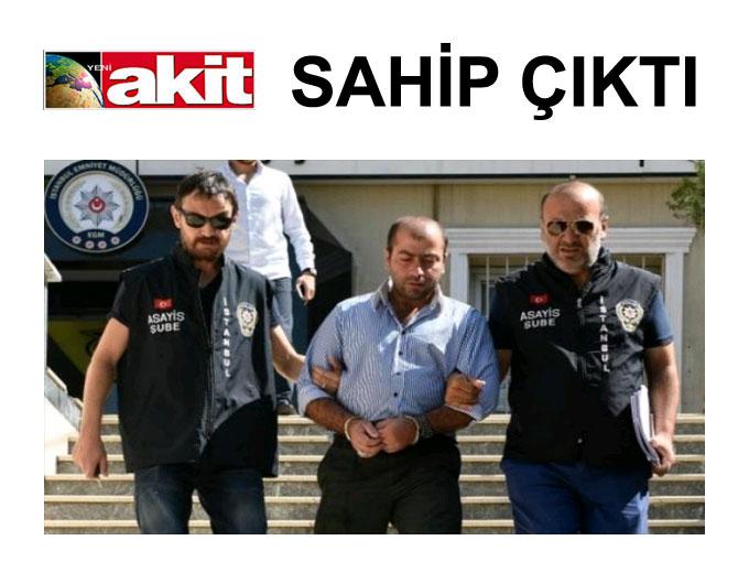 Yeni Akit yazarı, şort sapığı Abdullah Çakıroğlu'nun tutuklanmasına karşı çıktı.