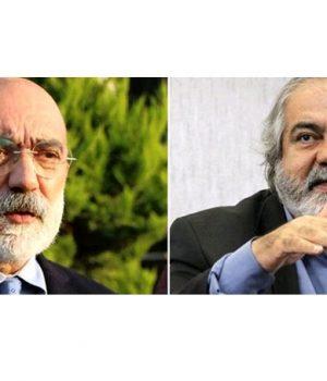 Ahmet Altan (solda) ve Mehmet Altan