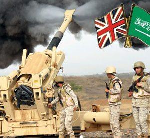 İngiliz silahları Suudi Arabistan'da