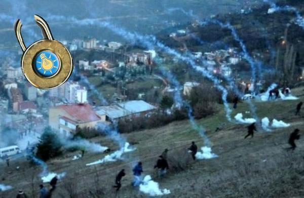 Rize'de Cerattepe'de AKP ablukası