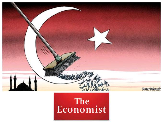 Cadı avı Economist'de