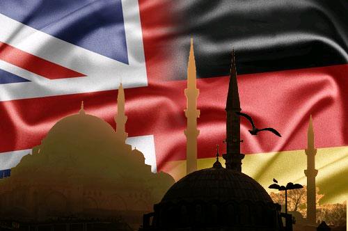 İstanbul'da İngiltere ve Almanya başkonsoloslukları
