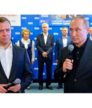 Birleşik Rusya Putin'in