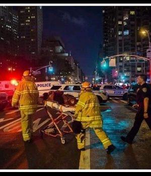 Manhattan'da patlama