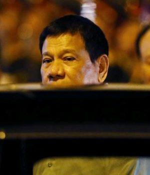 Filipinler Devlet Başkanı Rodrigo Duterte,