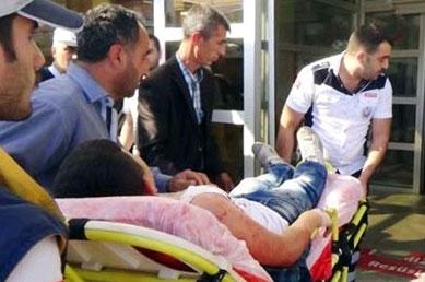 Suriyeli yaralı (arşiv)