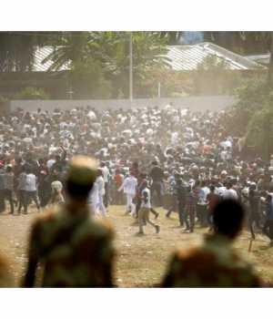 Etiyopya'da hükümet karşıtı protesto
