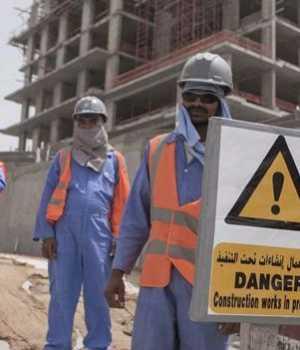 Katar'daki göçmen işçiler