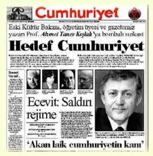 Prof. Dr. Ahmet Taner Kışlalı'yı katledilişinin 17. yılında anılıyor