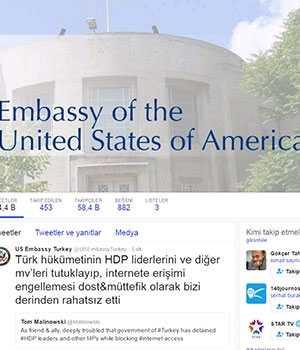 ABD'den 'HDP' mesajı