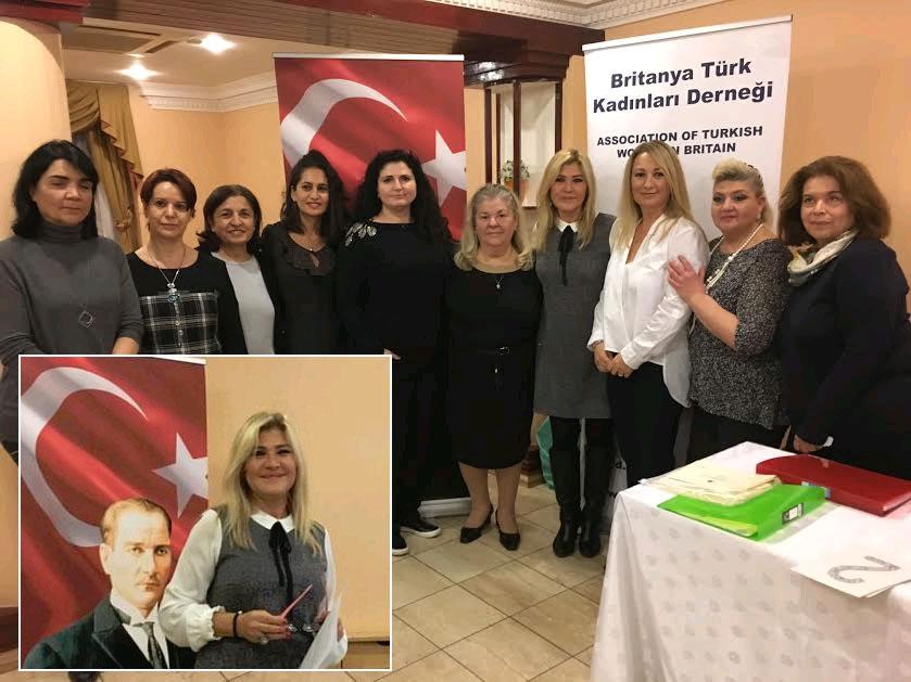 Britanya Türk Kadınları Derneğinde yeni yonetim