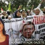 """Müslüman Örgütleri tarafından protesto edilen Cakarta Valisi Basuki """"Ahok"""" Tjahaja Purnama"""