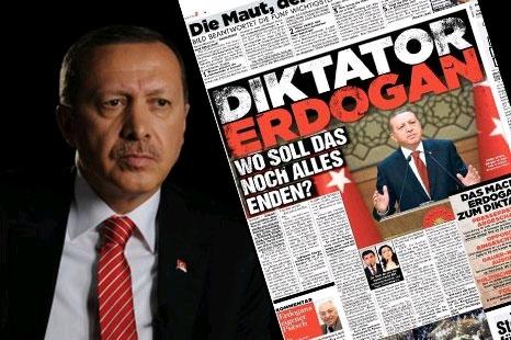 Alman Bild Gazetesi manşeti