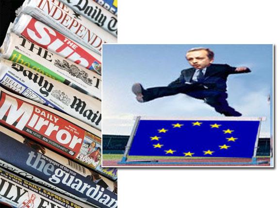 İngiltere basınında Türkiye-AB gerginliği