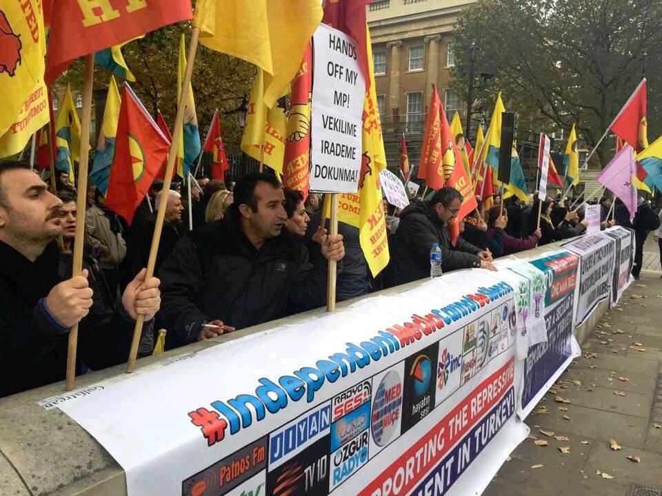 Londra'dan HDP öfkesi