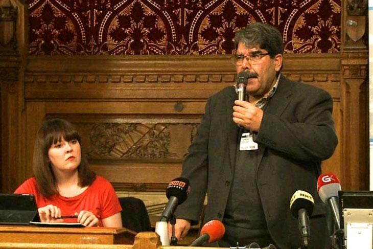 Salih Müslim İngiltere Parlamentosunda konuştu