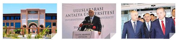 Antalya'nın Döşemealtı ilçesinde, devletin tahsis ettiği arazi üzerinde kurulan UAÜ'nin bağlı olduğu Gaye Eğitim Vakfı'na, Manavgat Gündoğdu'da da ayrıca bir arazi tahsis edilmiş, eğitim amacıyla alınan bu araziye ise Fettah Tamince tarafından 5 yıldızlı otel dikilmişti.