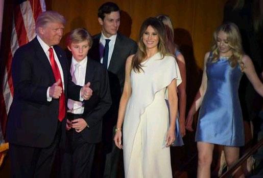 ABD'nin yeni başkanı seçilen Donald Trump