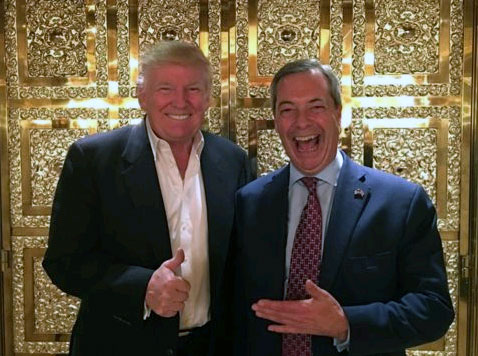 Trump ve Farage