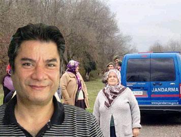 Zonguldak'ın Çaycuma İlçesine bağlı Adaköy'de köylülerin isyanı