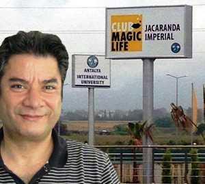 Antalya'da devletin FETÖ'cü vakfa tahsis ettiği araziye Fettah Tamince 5 yıldızlı otel dikti.