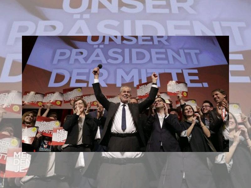 Cumhurbaşkanlığı seçiminin galibi Alexander Van der Bellen 72 yaşında bir ekonomi profesörü