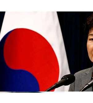 Güney Kore'de Devlet Başkanı Park