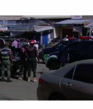 Nijerya'da canlı bomba