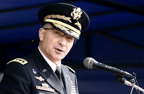 NATO'nun Avrupa Müttefik Kuvvetler Komutanı Orgeneral Curtis Scaparrotti