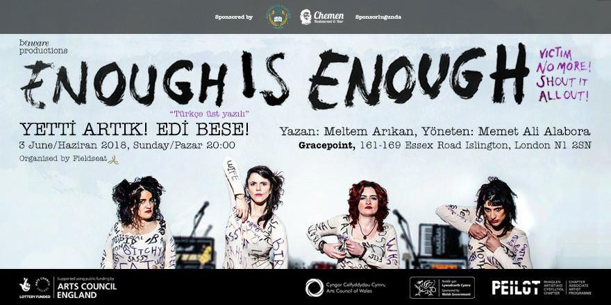 Kadına karşı şiddet Memet Ali Alabora'nın yönetmenliğiyle tiyatro sahnesinde