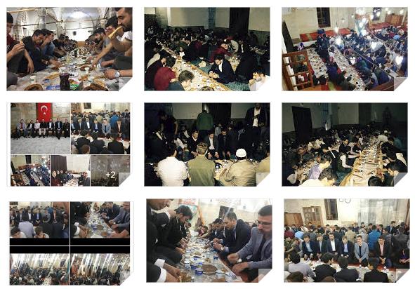 AKP'den camilerde iftar yemeği şovu!
