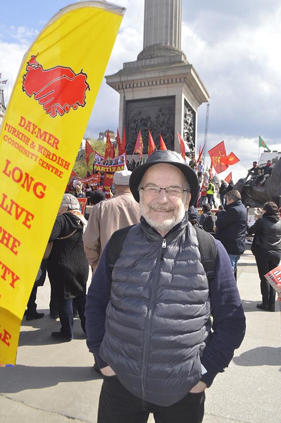 Londra'da 1 Mayıs coşkuyla kutlandı