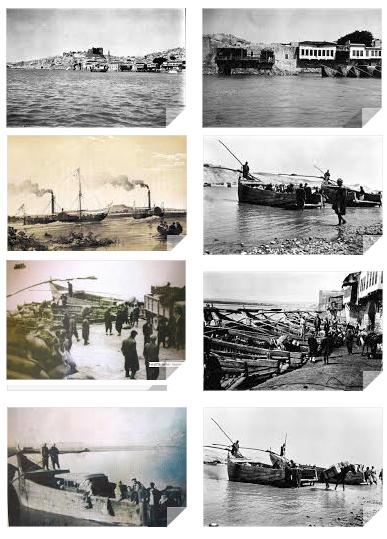 Anadolu nehirlerinde gemilerin yüzdüğü bir coğrafyaydı