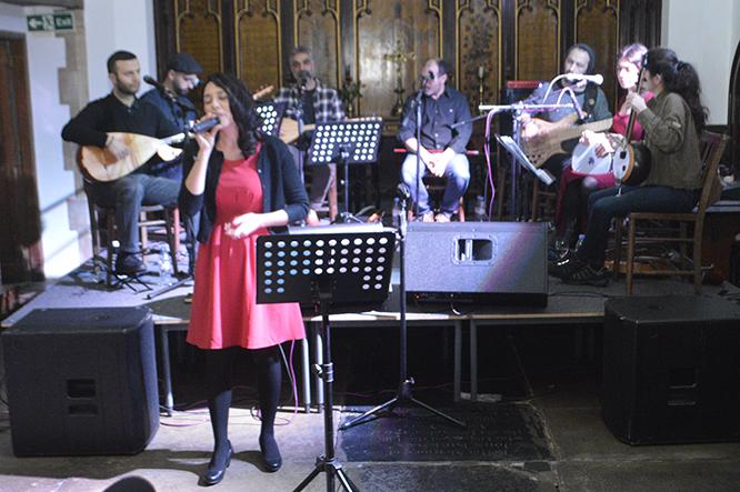 Anatolian Collective konserinde Suna Alan konuk sanatçıydı