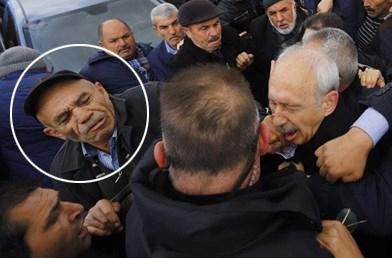 Kılıçdaroğlu'na yumruk atan AKP'li gözaltında