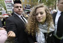 ve İsrail askerini tokatladığı için 16 yaşında cezaevinde yatan Filistinli aktivist kız Ahed Tamimi